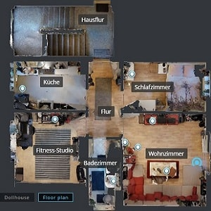 Virtueller Rundgang Grundriss