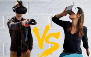 Virtual Reality vs. 360°-Video