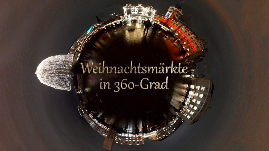 Hamburgs Weihnachtsmärkte in 360°