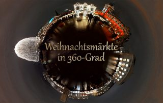 Hamburger Weihnachtsmärkte in 360°