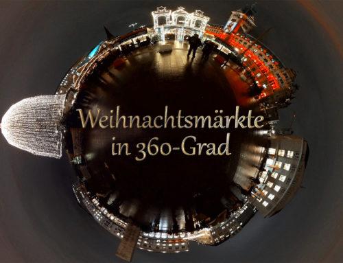 Hamburger Weihnachtsmärkte im 360-Grad-Video
