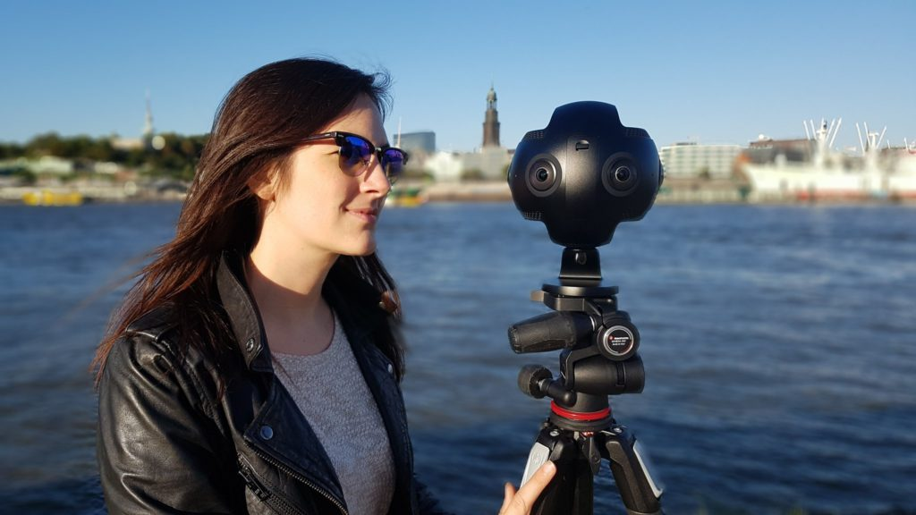 360-Grad-Video Hamburger Hafen
