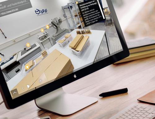 Virtueller Labor-Rundgang: Labore digital präsentieren