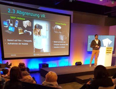Speaker Virtual Reality