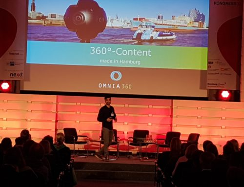 Keynote-Speaker: Virtual Reality, 360°-Content, Entrepreneurship