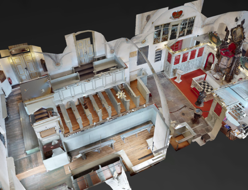 Denkmal digital dank 3D und 360°-Technologie
