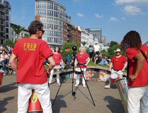Fogo do Samba im VR-Video beim Hamburger Hafengeburtstag