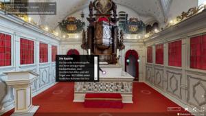 Virtuelle Kirche im 360°-Rundgang