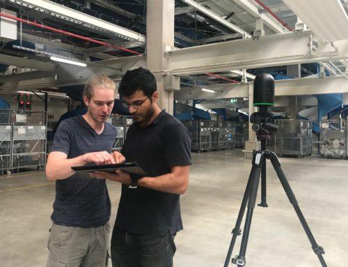 VR in der Logistik: 360°-Rundgang im Hermes Logistik-Center
