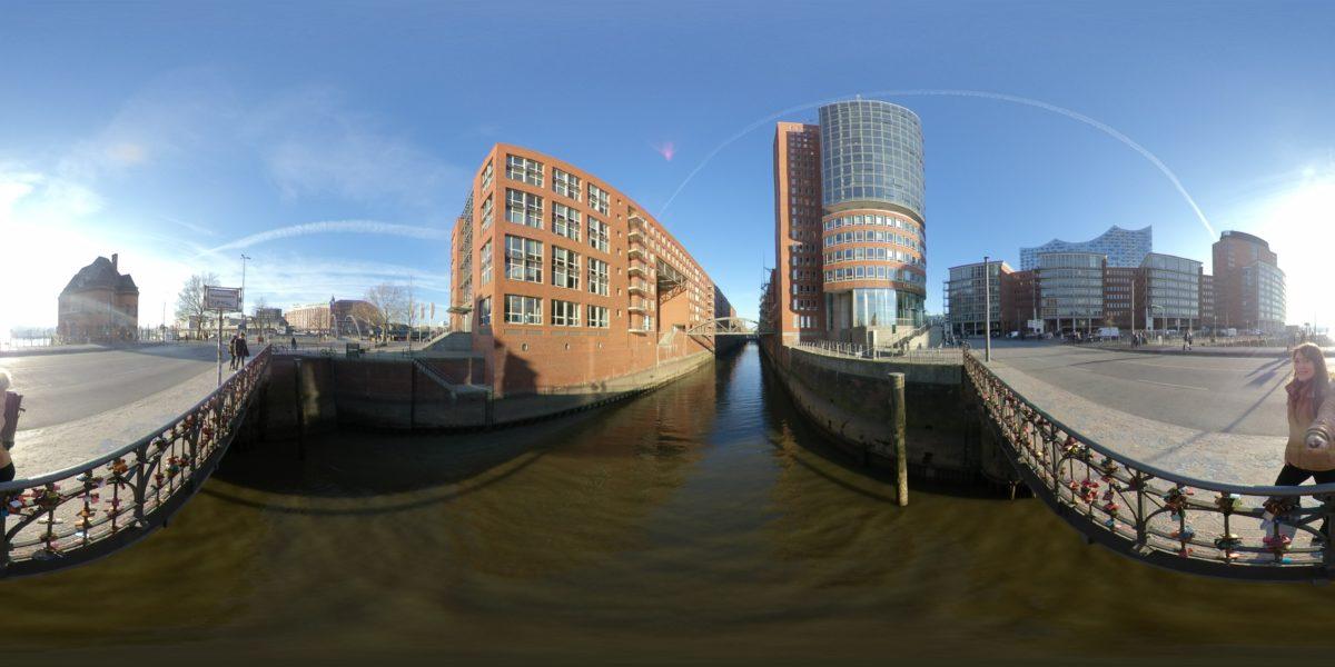 360°-Foto im Equirectangularformat