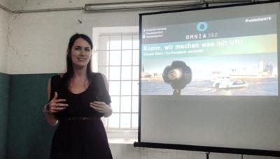 VR-Referentin Claudia Kiani