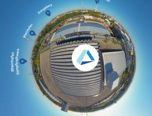 Stadtmarketing: 360°-Video im Schaufenster Karlsruhe