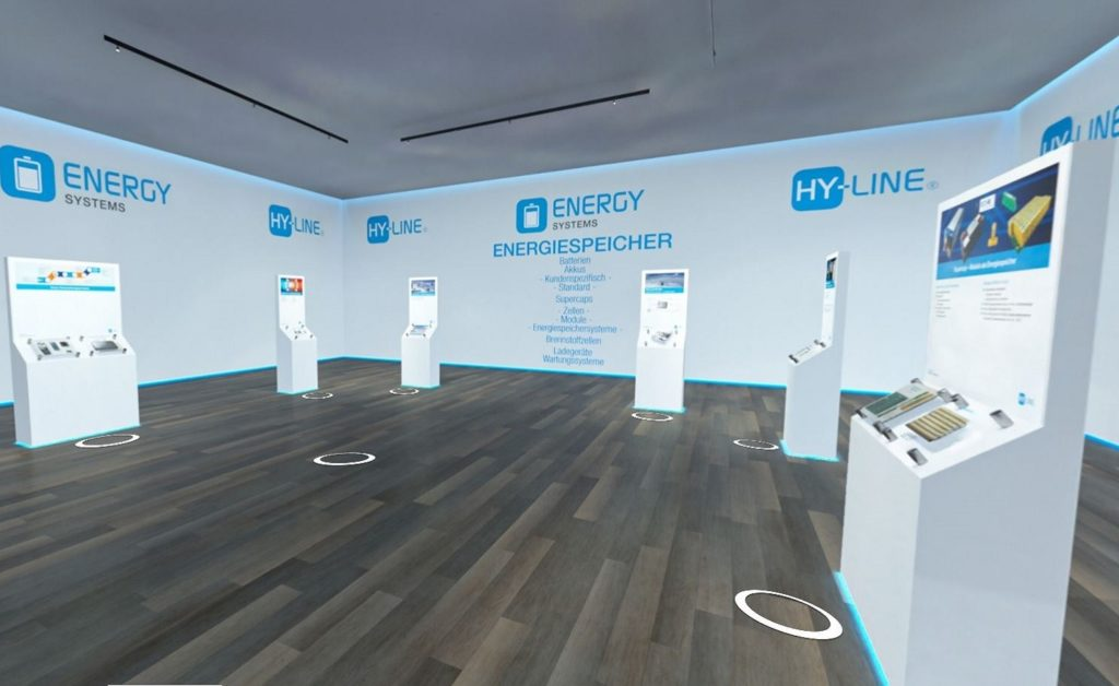 3D-Showroom: Hy-line