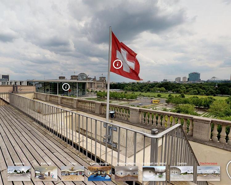 VR-Anwendung: Schweiz in Berlin