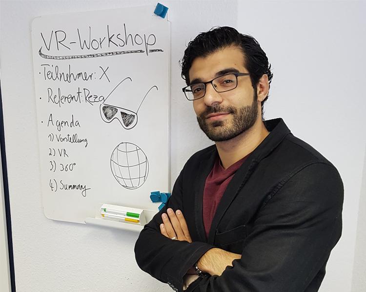 VR-Schulungsanwendung
