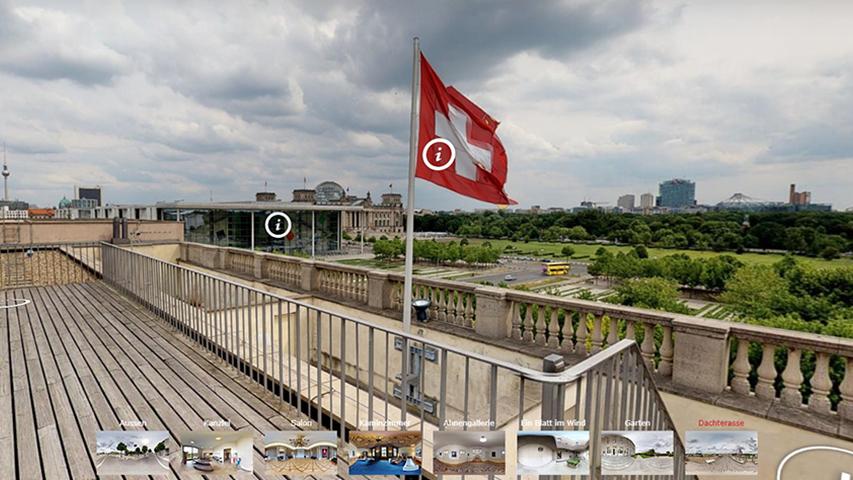 Virtueller Rundgang durch die Schweizer Botschaft in Berlin
