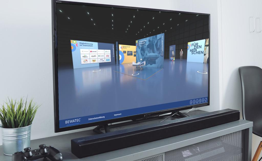 Erkunden Sie mit Klick auf das Bild den virtuellen Showroom von Bewatec.