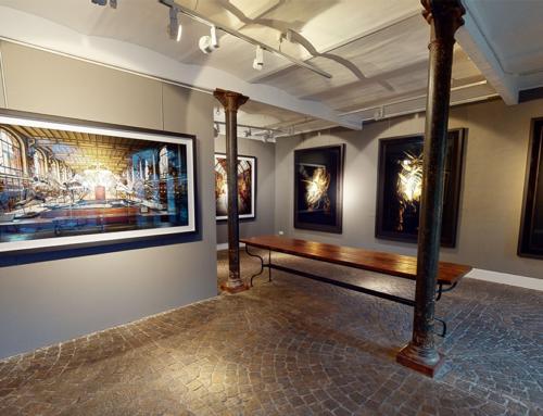 Wie lässt sich eine reale Ausstellung in eine virtuelle Galerie verwandeln?