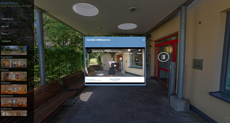 VR-Tour: Pflegefachschule Alsterdorf