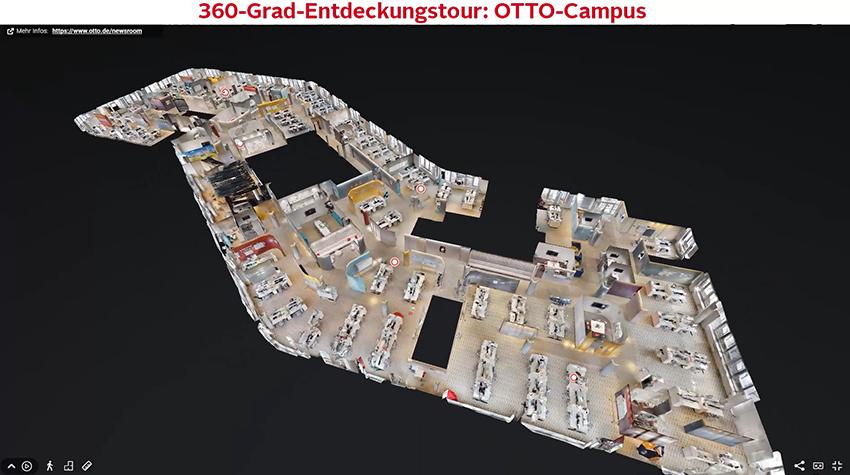 Virtueller-Betriebsrundgang OTTO
