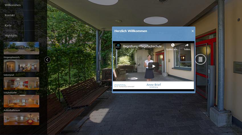 360-Grad-Tour: Pflegefachschule Alsterdorf