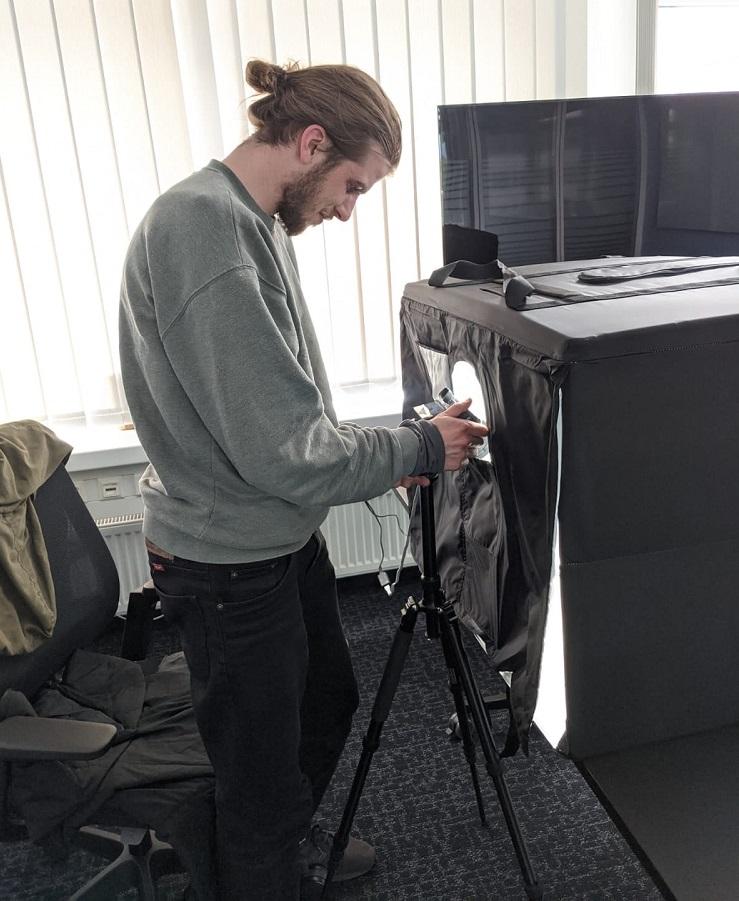 3D-Produktpräsentation mit Photogammetrie