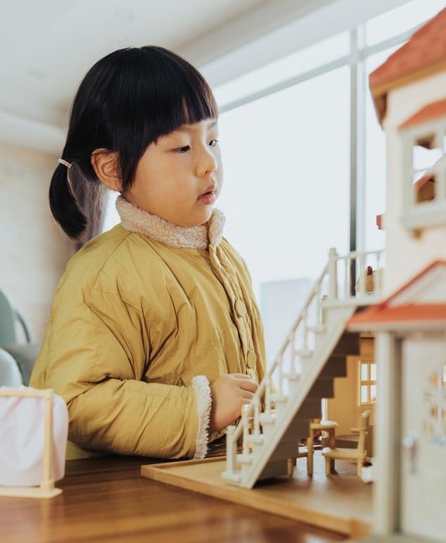 3D-Puppenhaus