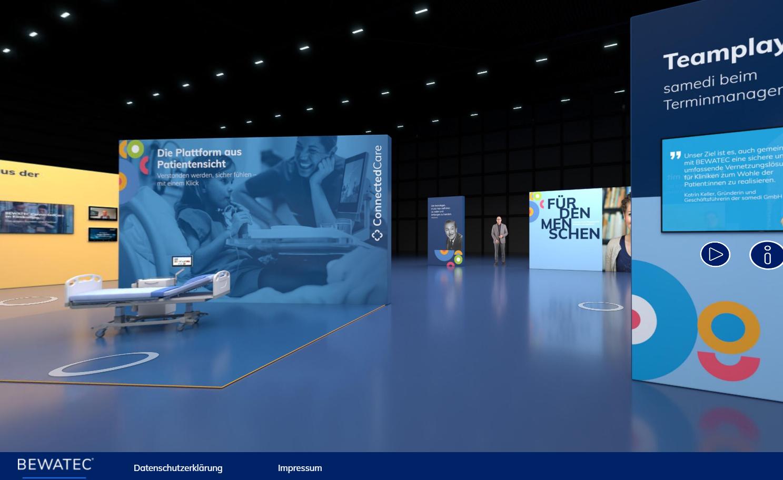 3D-showroom Bewatec