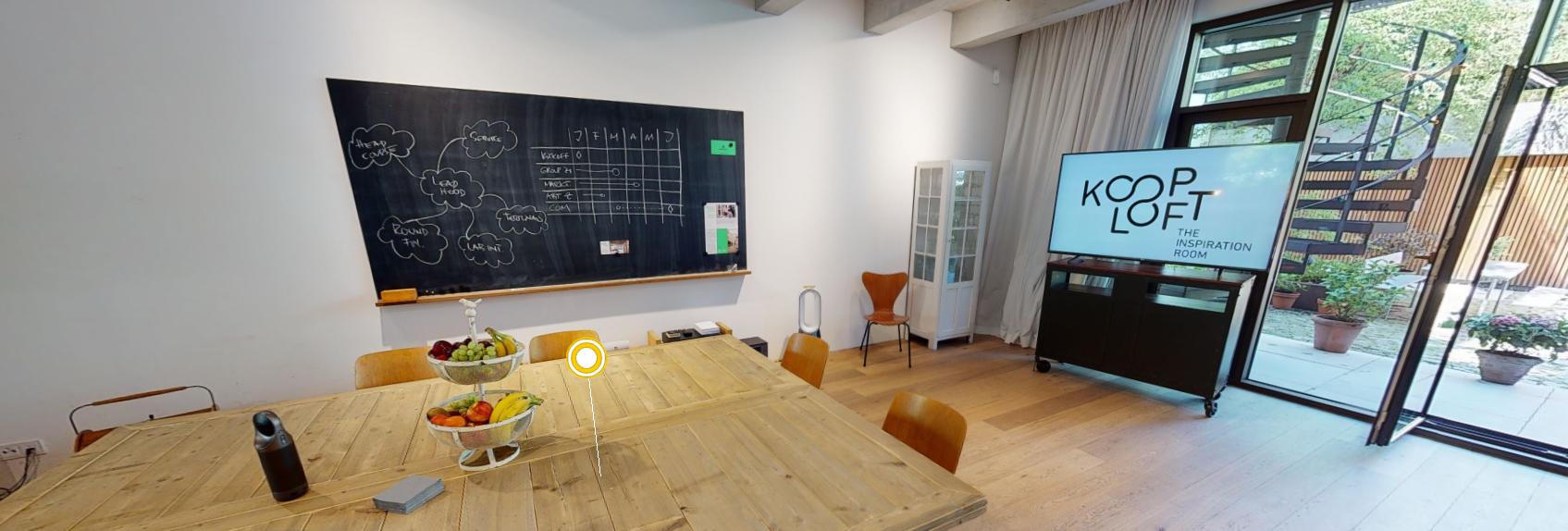 Das Kooplopft setzt auf einen 3D-Rundgang, um die Mietlocation online noch besser zu präsentieren