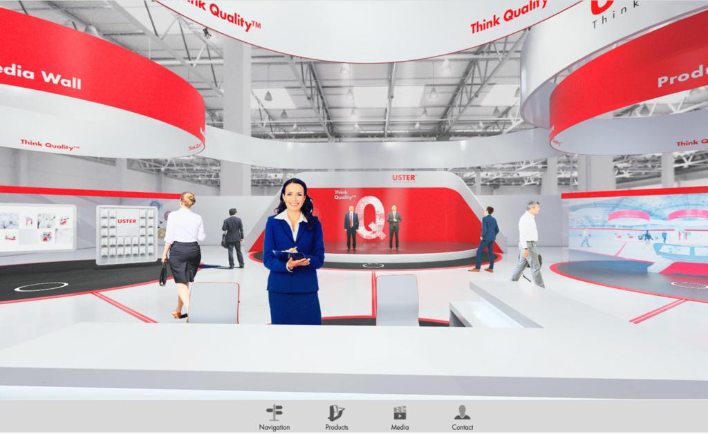 3D-Showroom: Uster Technologies