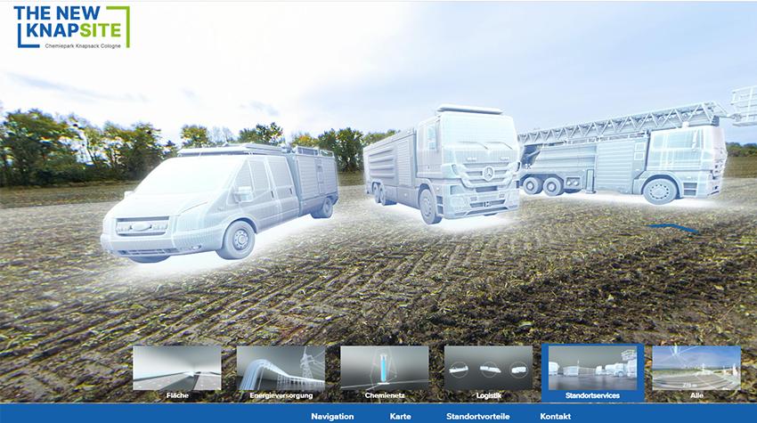 Virtueller Werksrundgang: The New Knapsite